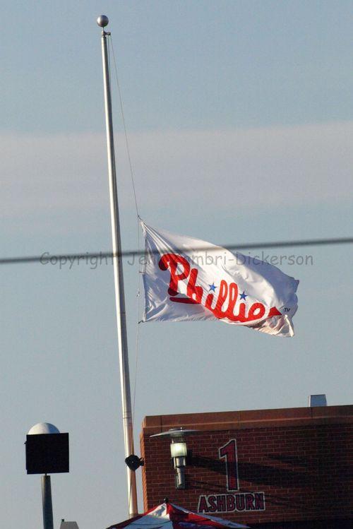 Flag at half-staff